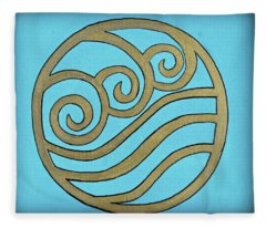 Water Fleece Blanket