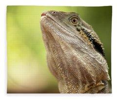 Water Dragon. Fleece Blanket