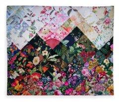 Watercolor Sunset Fleece Blanket