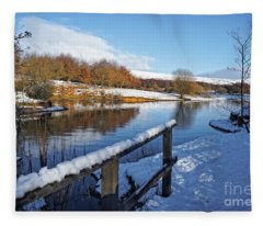 Watergrove Reservoir Fleece Blanket