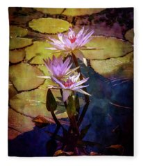 Waterlily Bouquet 2922 Idp_6 Fleece Blanket