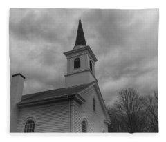 Waterloo United Methodist Church - Detail Fleece Blanket