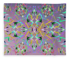 Wave Medium Fleece Blanket
