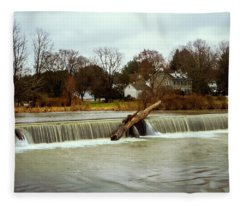 Wehr's Dam - Kodak Color Profile Fleece Blanket