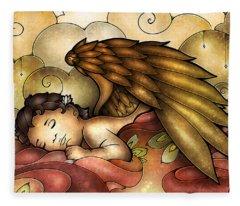 Heaven's Little One Fleece Blanket