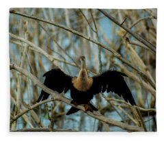 Welcome To The Stick Jungle Fleece Blanket