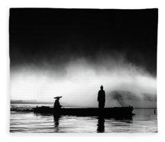 West Lake Fleece Blanket