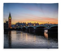 Westminster Sunset Fleece Blanket
