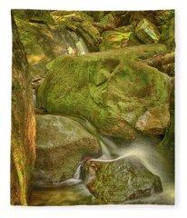 Wet Rocks Fleece Blanket