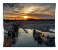 What A View Fleece Blanket