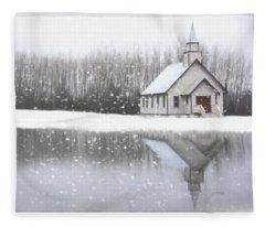 Where Hope Grows - Hope Valley Art Fleece Blanket