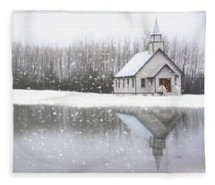 Where Hope Grows - Hope Valley Art Fleece Blanket