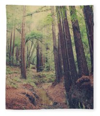Wherever You May Roam Fleece Blanket
