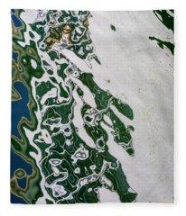 Whimsical Reflection Fleece Blanket