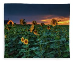 Fleece Blanket featuring the photograph Whispers Of Summer by John De Bord