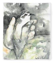 White-faced Storm-petrel Fleece Blanket