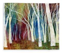 Autumn Landscape Fleece Blankets