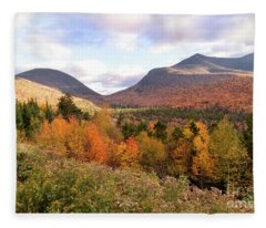 White Mtns Waterville Valley 2 Fleece Blanket