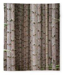 White Pines Fleece Blanket