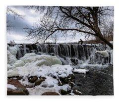 Whitnall Waterfall Fleece Blanket