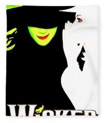 Wicked Broadway Fleece Blanket