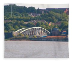 Wigg Island Swingbridge Fleece Blanket