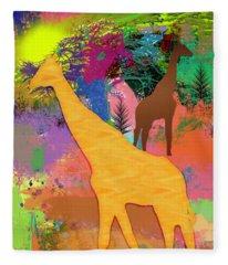 Wild Africa Fleece Blanket