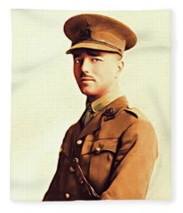 Wilfred Owen, Famous Poet Fleece Blanket
