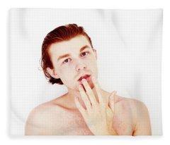 William Fleece Blanket