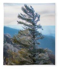 Wind Shaped Fleece Blanket