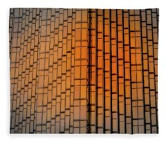 Windows Mosaic Fleece Blanket