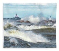 Winds Of November Fleece Blanket
