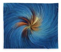Windy Palms Fleece Blanket
