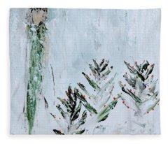 Winter Angel Fleece Blanket