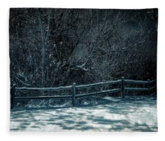 Winter Arrived Fleece Blanket