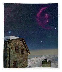 Winter Bounty Fleece Blanket