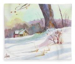 Winter Break Fleece Blanket