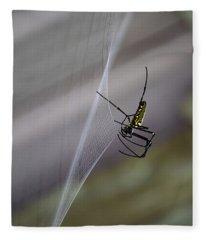 Winter Spider Fleece Blanket