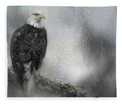 Winter Watcher Fleece Blanket