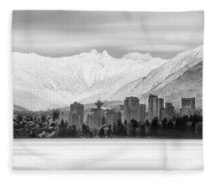 Winterscape Vancouver Fleece Blanket