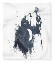 Wolf Song Fleece Blanket