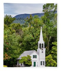 Wonalancet Union Chapel Fleece Blanket