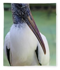 Wood Stork 40312 Fleece Blanket