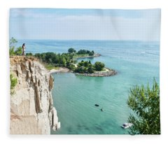 Woodbine Beach Fleece Blanket