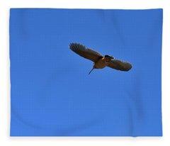 Woodcock Jet Fleece Blanket