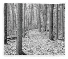 Woodland Trail Fleece Blanket