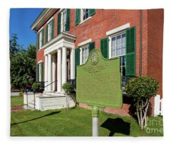 Woodrow Wilson Boyhood Home - Augusta Ga 1 Fleece Blanket