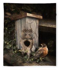 Woodsprite Fleece Blanket