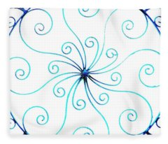 Wrought Iron Fleece Blanket