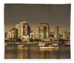 Yaletown Golden Hour Fleece Blanket